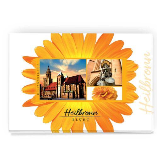 Postkarte Heilbronn mit Kilianskirche