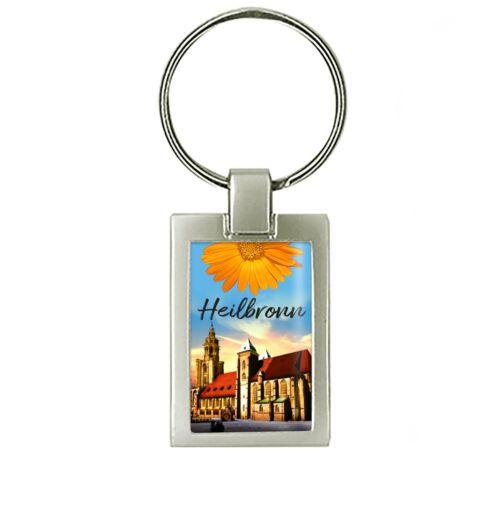 Schöner Heilbronn Schlüsselanhänger mit der Kilianskirche
