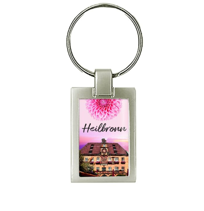 Schöner Heilbronn Schlüsselanhänger mit dem Rathaus von Heilbronn