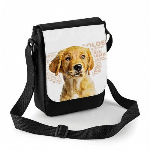 Hundetasche Golden Retriever, Gassitasche mit Namen