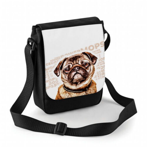 Mops Tasche personalisierbar