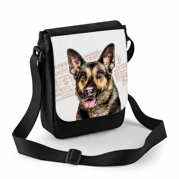 Schäferhund Tasche personalisierbar