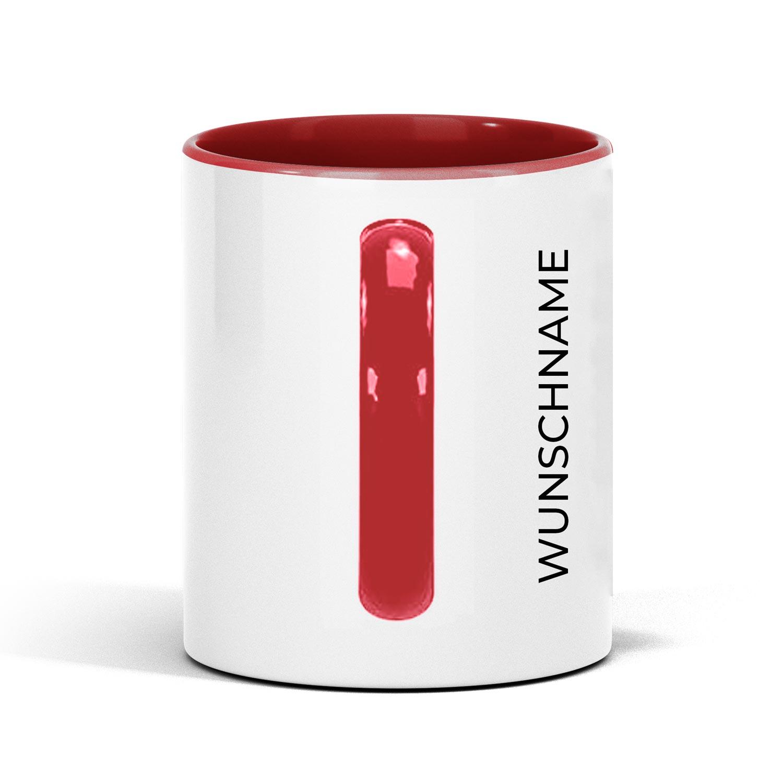 Individualiserbare Tasse mit Wunschnamen