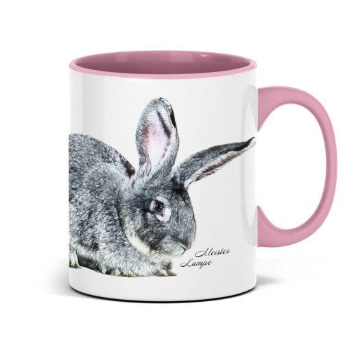 Schone Tasse mit Hasenmotiv auf Wunsch personlisierbar.