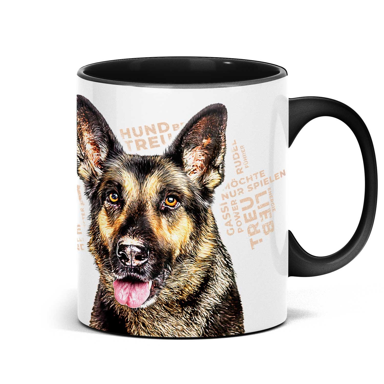 Schäferhund Tasse für alle Hundeliebhaber