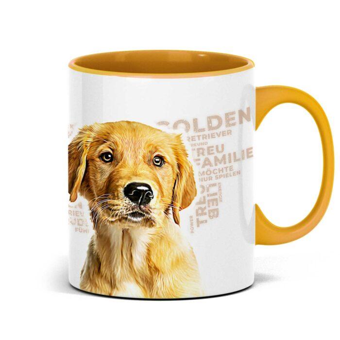 Golden Retriever Tasse für alle Hundeliebhaber