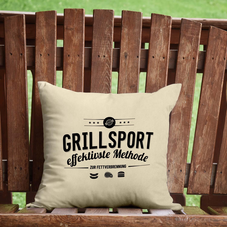 Wer hat schön ein Grillkissen im Garten? Es ist ein absolutes Highlight in jedem Garten und an jedem Grillplatz.