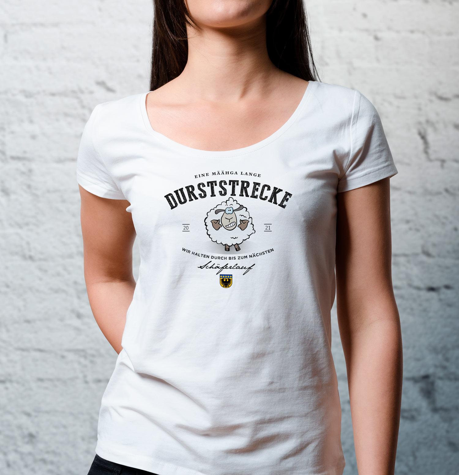 T-Shirt Markgröningen. Was für eine lange Durststrecke ohne Schäferlauf Markgröningen.